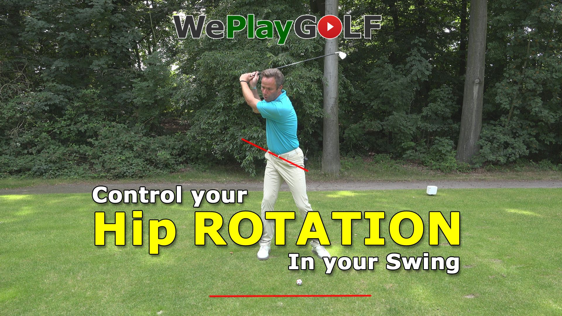 Videotip: Controleer de heup rotatie in de swing - Video - Blog