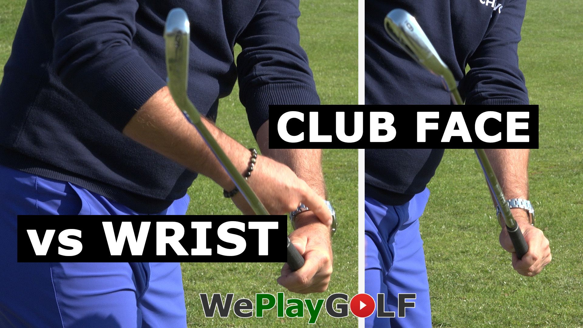 videotip: Controleer de pols in de golf swing - Video - Blog