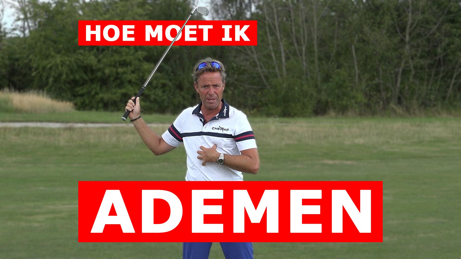 Verbeter jouw golf swing door correct te ademen - Video - Blog