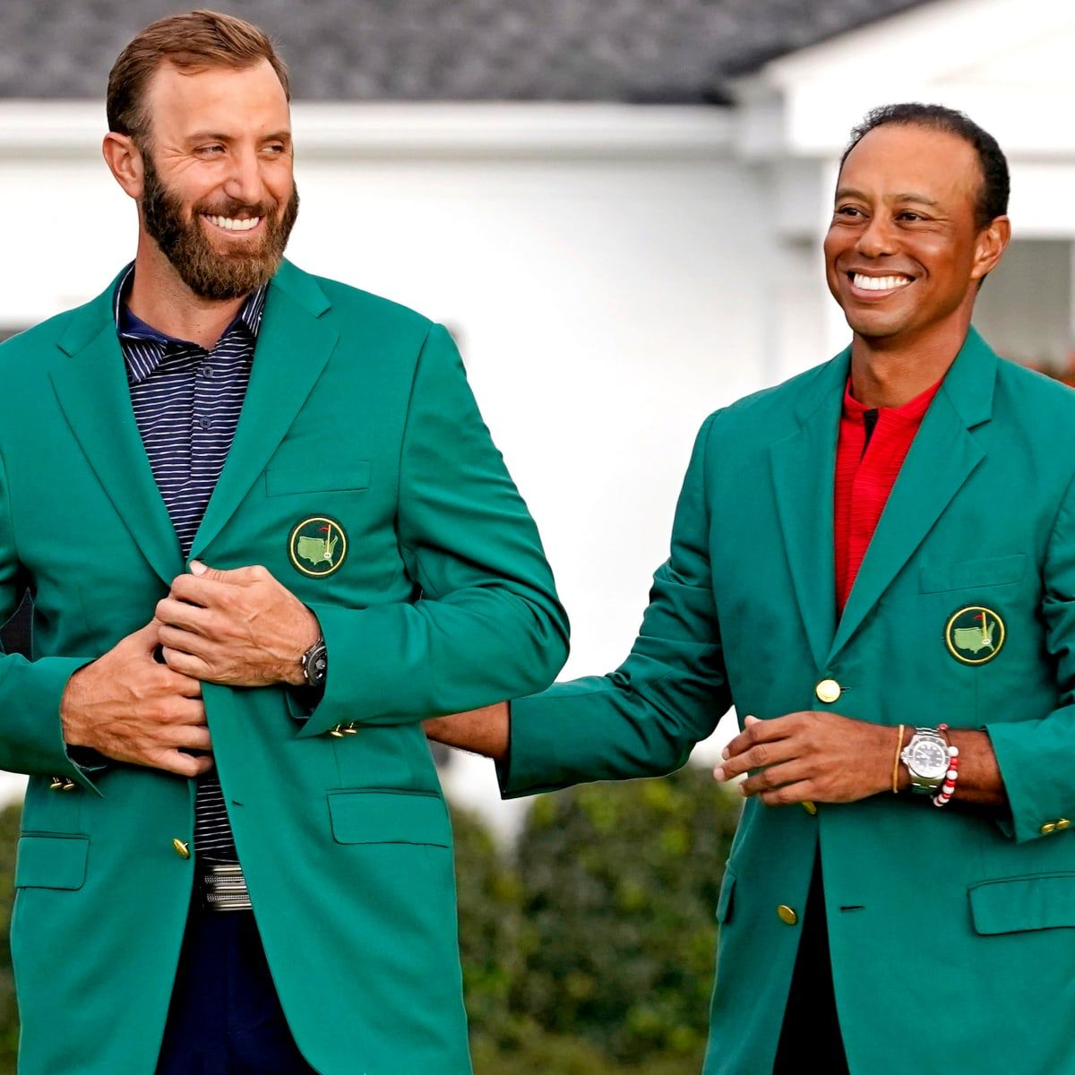 """Dustin Johnson is beter van tee tot green als Tiger Woods"" - Blog"