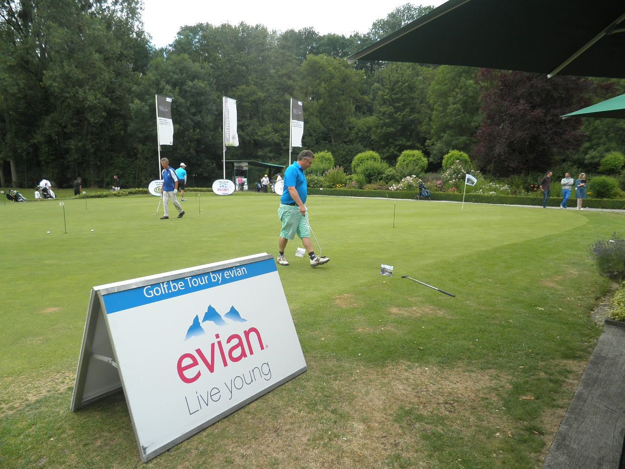 "Hole-in-one op ""Golf.be Tour by evian"""