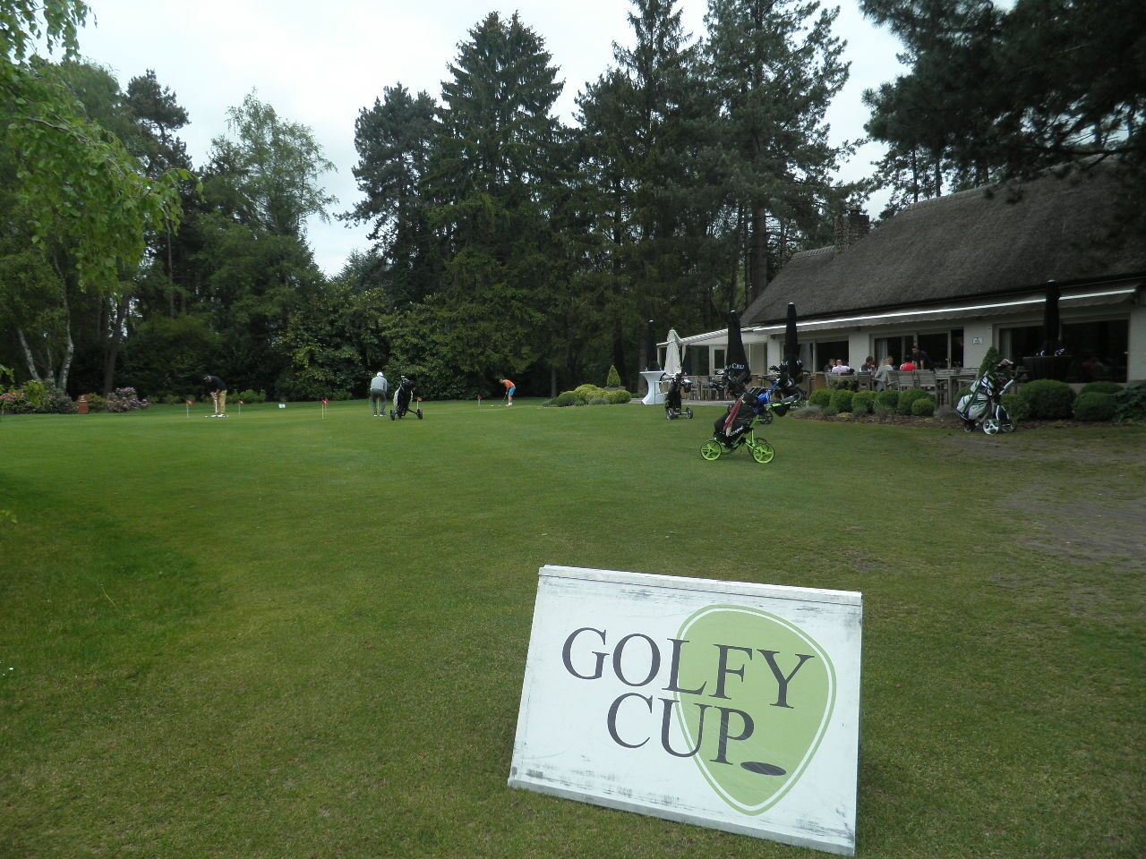 Royal Hainaut opent Golfy Cup 2017