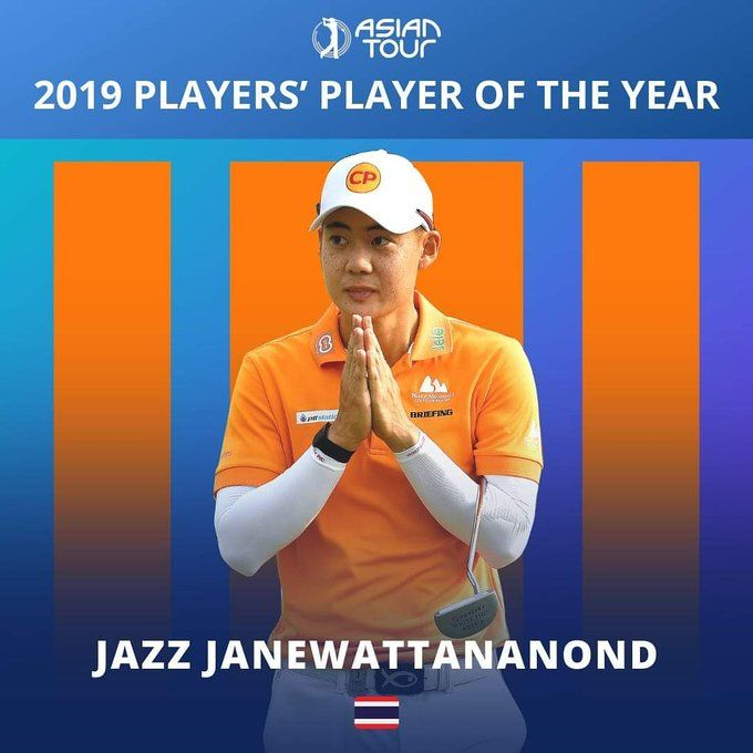 Jazz is Asian Tour Player of the Year - Blog