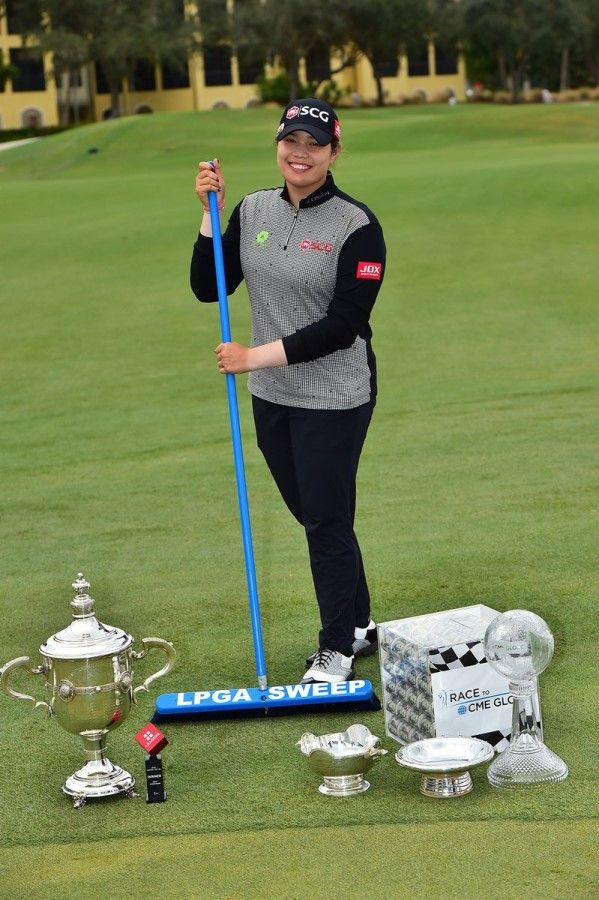"""Clean sweep"" voor Ariya Jutanugarn"