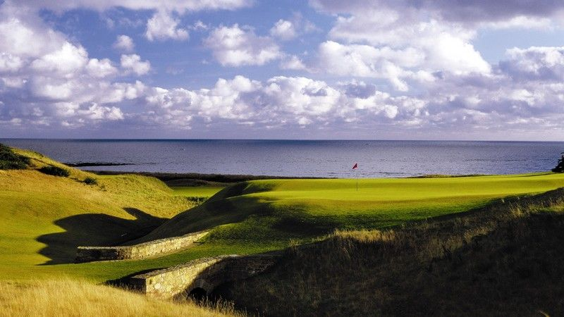 Women's British Open finisht op... eerste hole