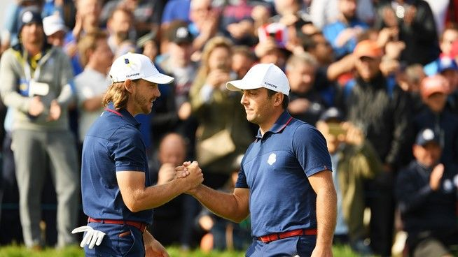 Team Europe rolt als bulldozer over Team USA