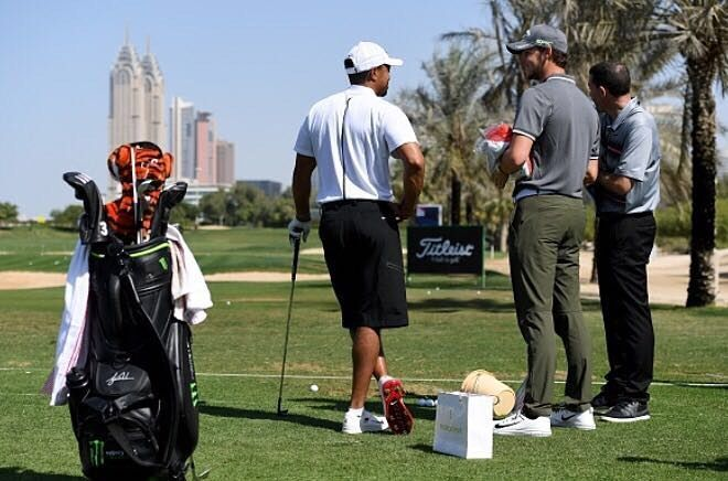 Thomas Pieters mist flight met Tiger Woods