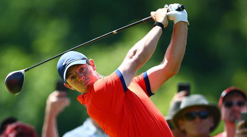 Rory McIlroy geeft golfles  - Blog