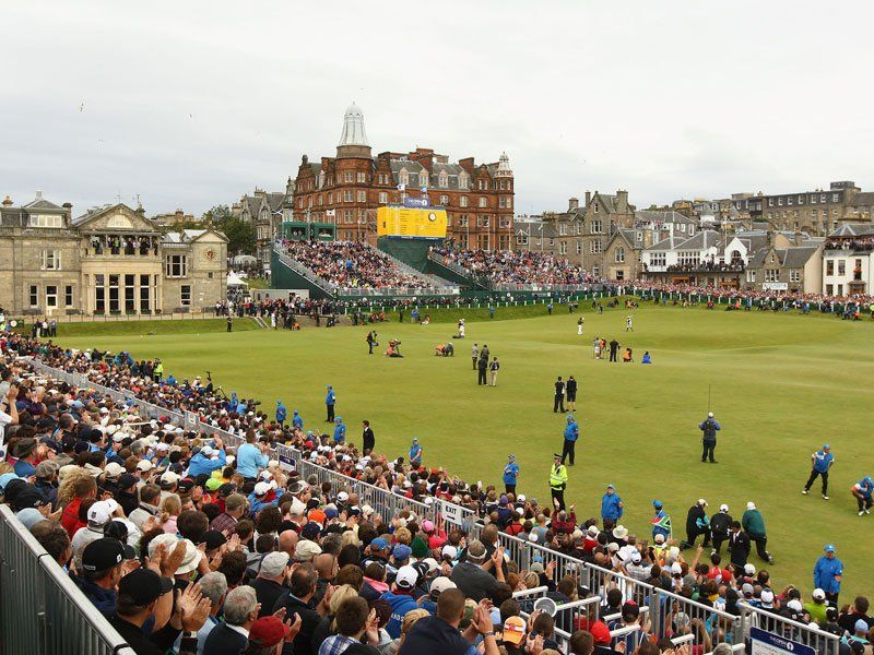 The Open 2021 op St.Andrews' Old Course - Blog