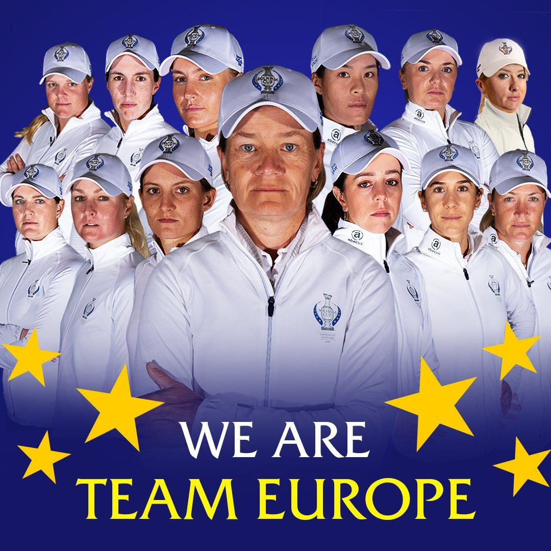 Anne van Dam in Europees Solheim Cup-team - Blog