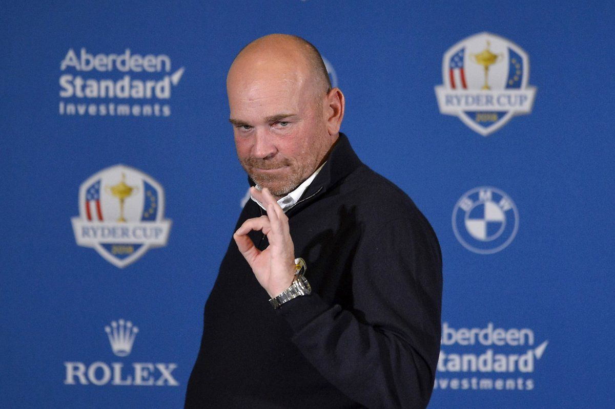 Thomas Bjorn tevreden met 8 Europeanen in World Ranking Top 20