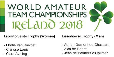 Line-up voor World Amateur Team Championships