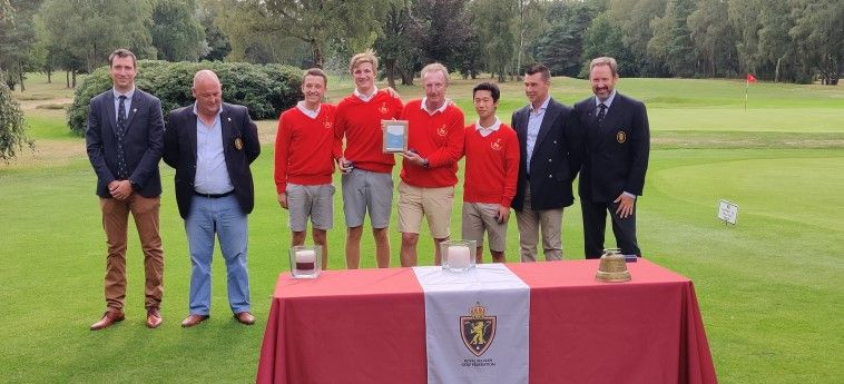 Rigenée en Royal Waterloo winnen Interclubs of Belgium Stroke Play - Blog