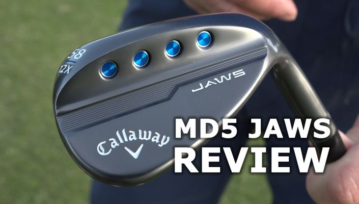Nieuwe Callaway MD5 Jaws wedges test