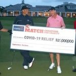Tiger Woods et Peyton Manning gagnent le Champions for Charity