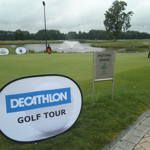 Eerste natte manche Decathlon Golf Tour