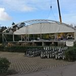 Royal Zoute bouwt pop-up clubhouse